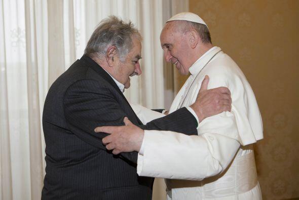 El 1 de junio recibió al presidente uruguayo, José M&uacut...