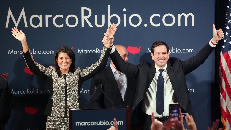 """Marco Rubio """"gana"""" en Carolina del Sur sin llegar de primero GettyImages..."""