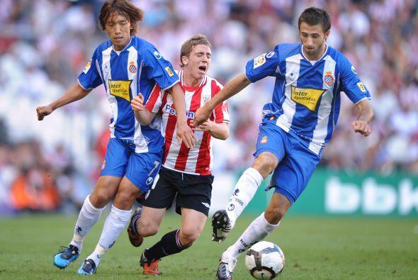 Ante el Espanyol de Barcelona alineó para ser el jugador m&aacute...