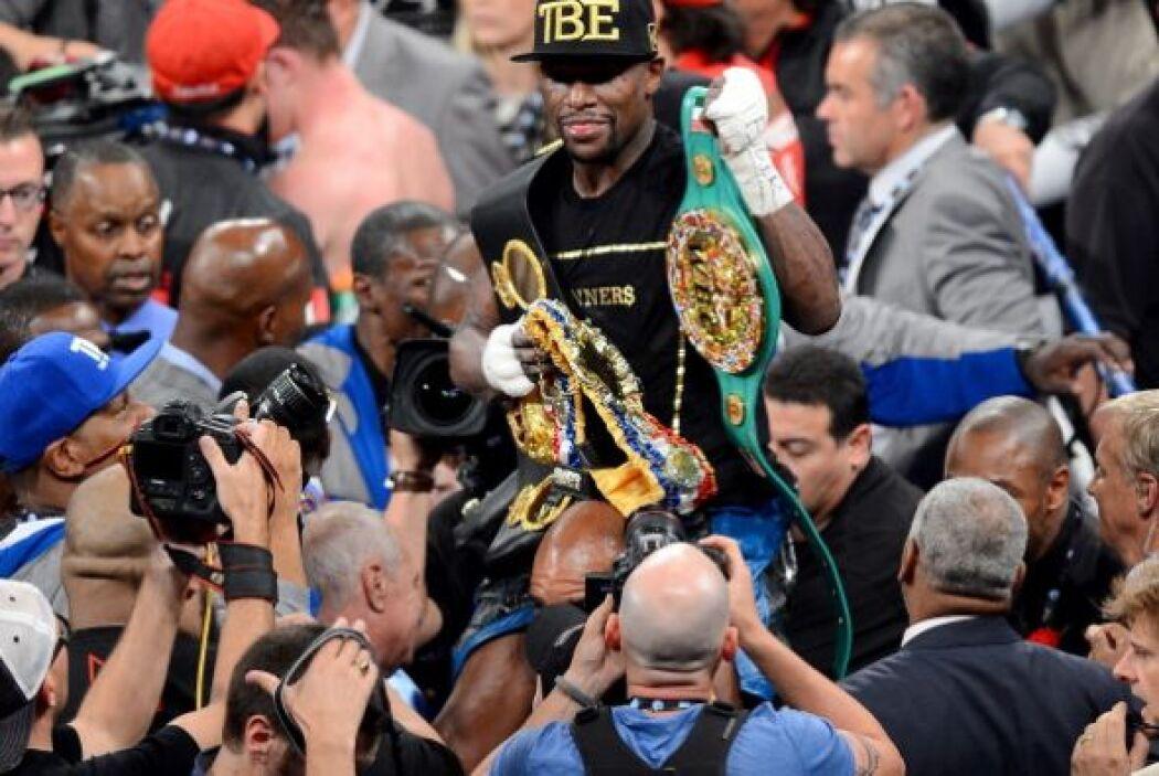 A pesar que los jueces no vieron la misma pelea ya que uno de ellos dio...