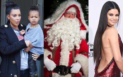 ¿Qué pedirán las celebridades a Santa Claus?