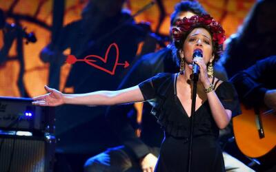 Natalia Lafourcade 6th Latin GRAMMY Awards