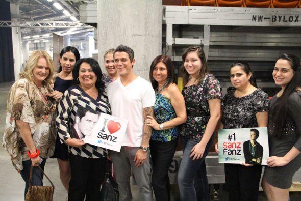 Nuestras ganadoras del concurso para conocer a Alejandro Sanz disfrutaro...