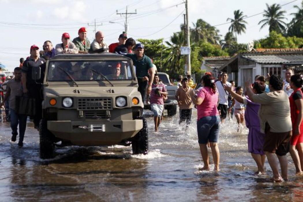 Las intensas lluvias del año pasado dejó a unos 130 mil damnificados en...