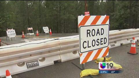 Residentes del condado Placer sufren el colapso de un camino tras el pas...