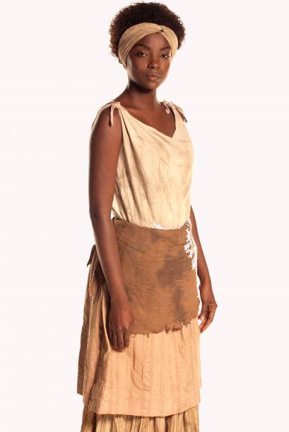 Nicolasa (Ana Mosquera) es la esclava de Catarina. Es una princesa afric...