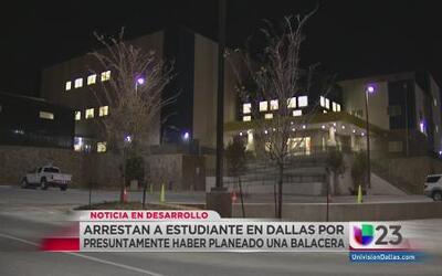 Planeaban tiroteo en escuela de Oak Cliff