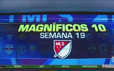 Los Magnificos 10 de la Semana 19 en la MLS