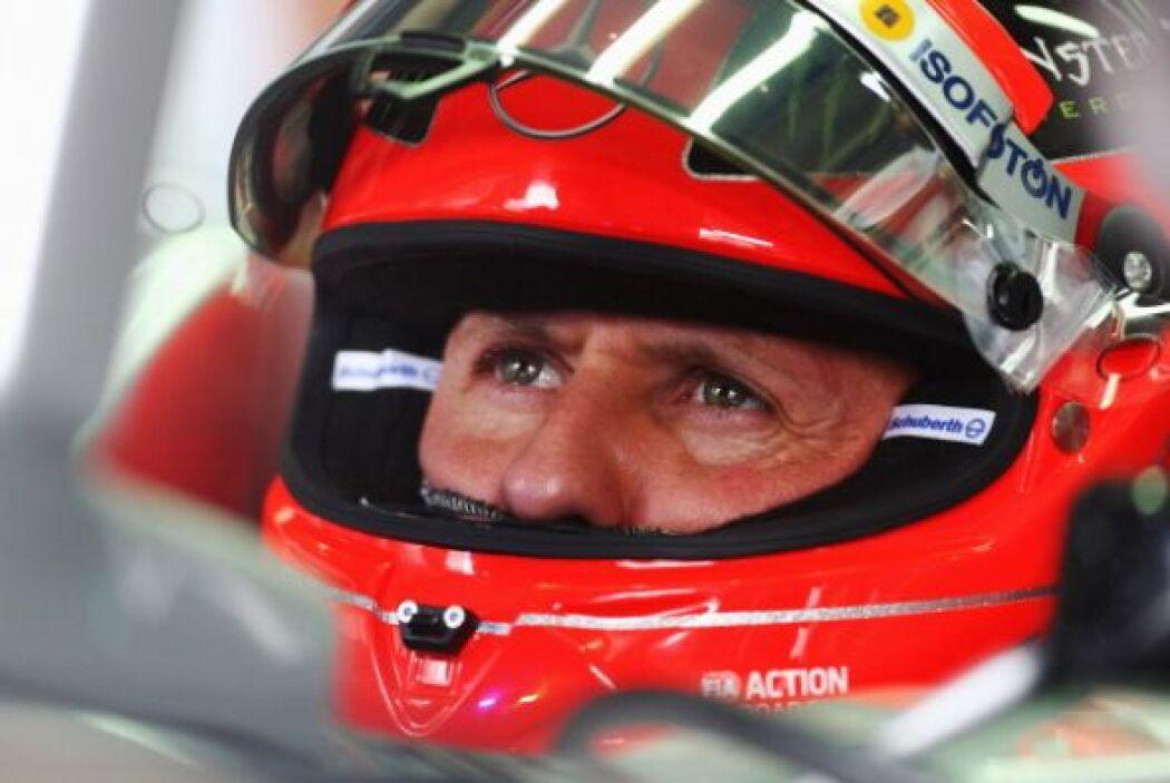 Durante la pausa se mantuvo como piloto de pruebas en Ferrari, cuanod sa...