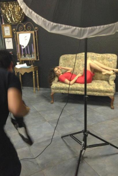 La presentadora declaró que estuvo trabajando en una sesión de fotos par...