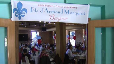 'Chicago en un Minuto': Little Brothers organizó una fiesta para las per...