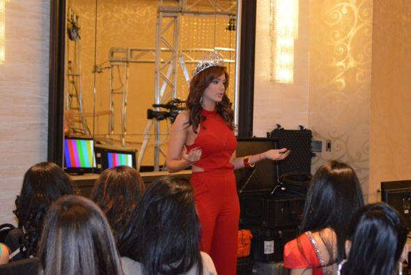 Aleyda Ortiz compartió con las chicas que audicionaron en Nueva Y...
