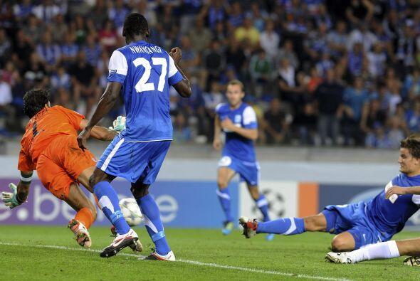 Ese resultado le daba el pase al Haifa, pero el Genk no se rindió.