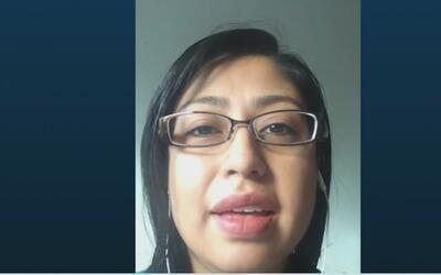 """Cristina Jiménez: """"lo importante es poder ver el apoyo que hay para el p..."""