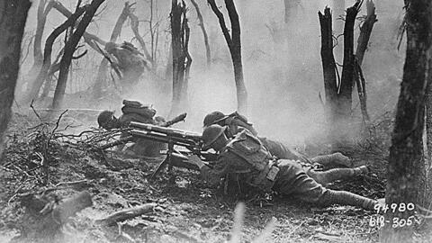 EEUU en la primera guerra mundial