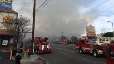 Seguidores de Univision 34 en Facebook enviaron fotos del incendio que r...