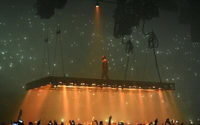 La audiencia insulta a Kanye West durante su show en San José