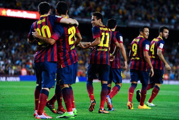 Los catalanes tenían el triunfo en la bolsa y todo era alegrías y abrazo...