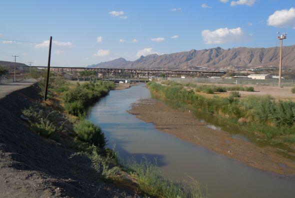 Una vista de la zona fronteriza entre Ciudad Juárez y El Paso.