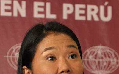 Keiko Fujimori, favorita en las encuestas para ganar la presidencia en P...