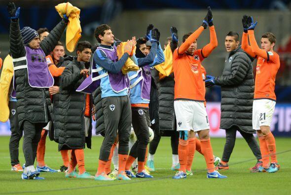 Triunfo final de 3-1 para Monterrey, que de este modo ganó su acceso a s...