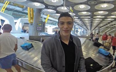 Raúl Jiménez llega a Madrid