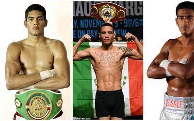 Cartelera de lujo: tres grandes del boxeo mexicano expondrán sus títulos