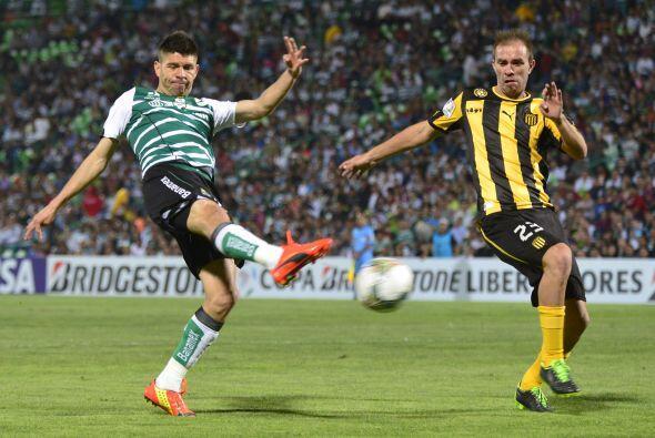 Santos goleó a un rival y Oribe Peralta no metió gol, eso es una gran no...