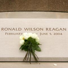 Tumba del Presidente Ronald Reagan.