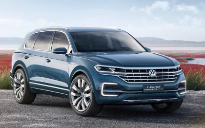 Imágenes Volkswagen T-Prime Concept GTE
