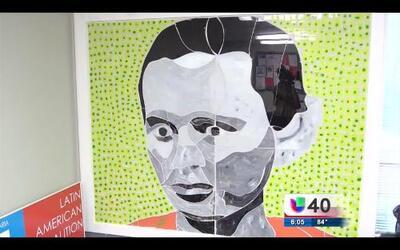 Se manifiestan con arte contra la detención de Yefri Sorto