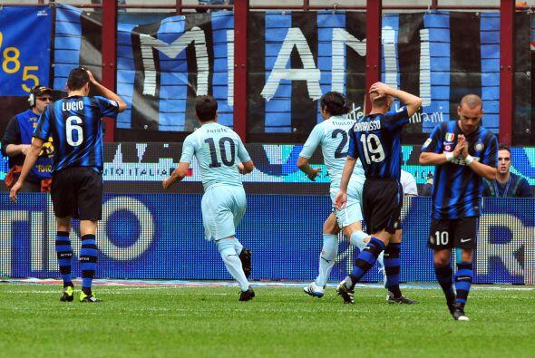 Gol del argentino y la Lazio festejaba desde temprano.