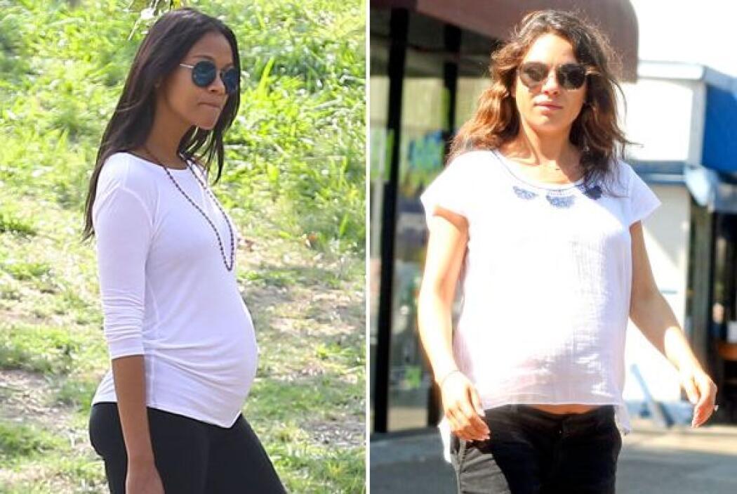 """Dos de las actrices más """"hot"""" de Hollywood están esperando bebé..."""