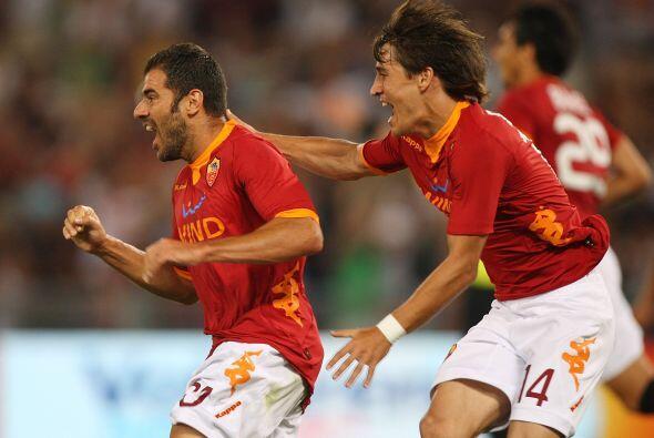 El gol de Simone Perrotta mandaba momentáneamente al alargue el duelo an...