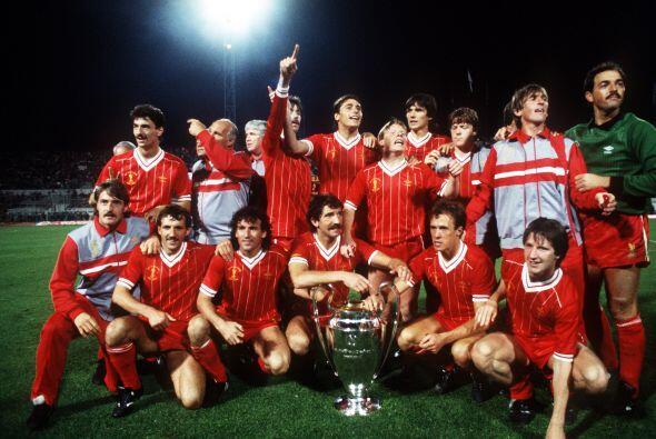Para 1981 el Liverpool se llevó la 'Orejona' sobre el Real Madrid...