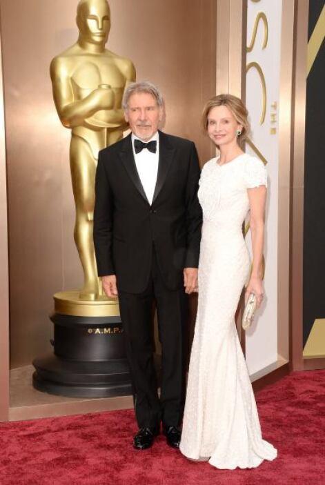 Los años no le han caído nada bien a Harrison Ford, al menos eligió bien...