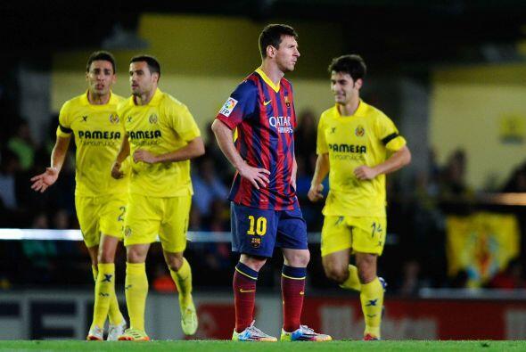 Nuevo contragolpe del Villarreal y nuevo gol, esta vez fue Trigueros qui...
