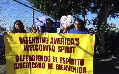 Realizan peregrinación en Los Ángeles para fortalecer la fe y la esperan...