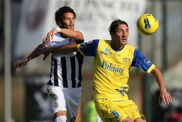 El duelo que había iniciado la jornada dominical fue el Siena vs. Chievo...