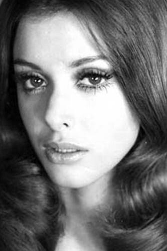Desde que era más joven, Lucía Méndez se caracterizó por su gran belleza.