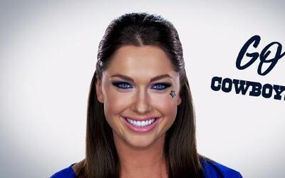 El maquillaje más CHIC al estilo de los Dallas Cowboys
