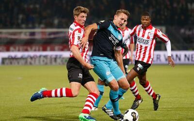 El PSV cayó  3-1 ante el Sparta Rotterdam