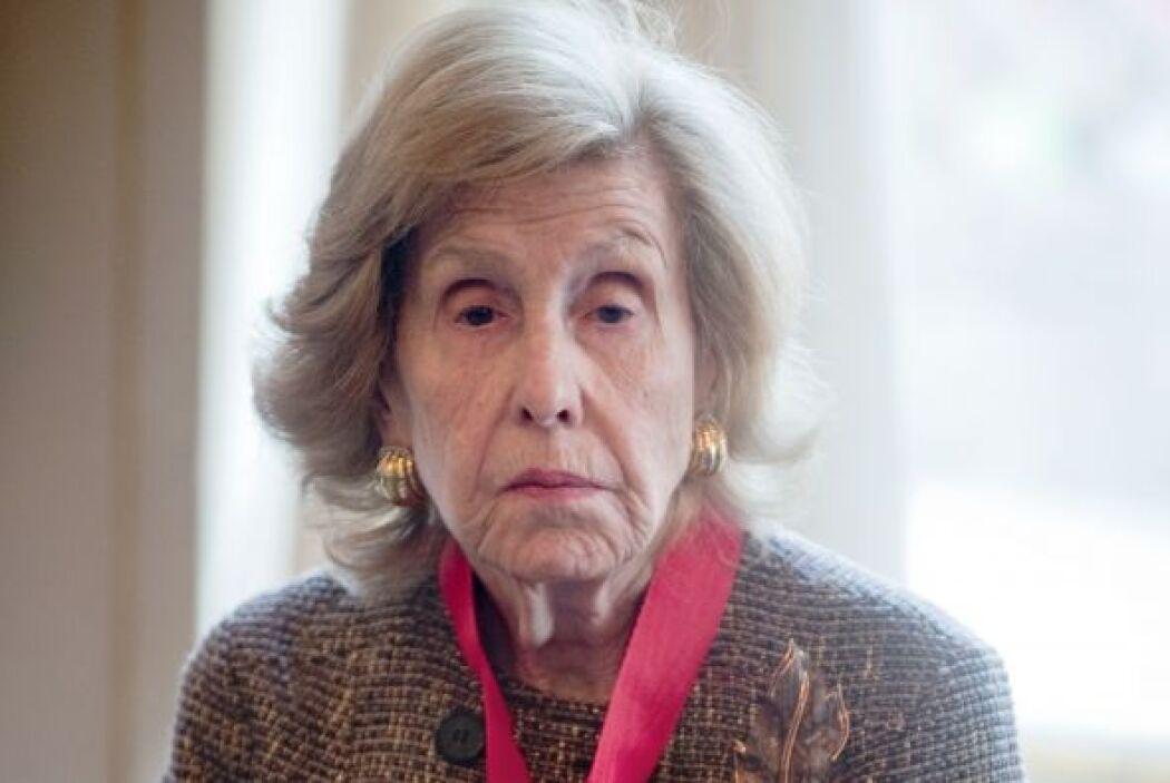 Anne Cox Chambers, dueña mayoritaria de la empresa de medios de comunica...