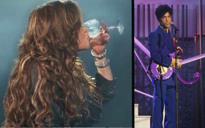 Jenni Rivera estaba viendo en un autocine 'Purple Rain', de Prince, cuan...