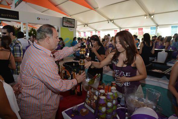 Varios fueron los chefs hispanos que presentaron sus obras en este festi...