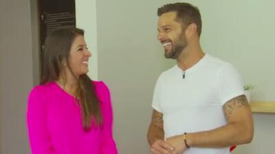 Primicia: Ricky Martin en su santuario de paz y amor