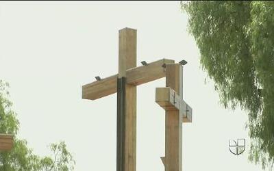 Imágenes de la conmemoración de la pasión de Cristo en Iztapalapa, México