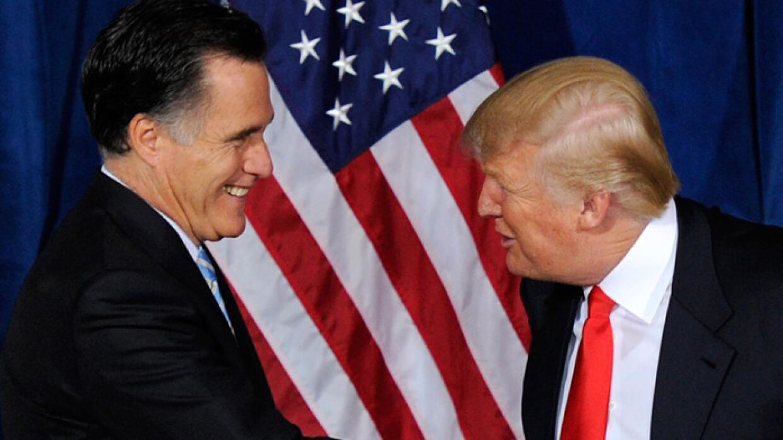 """Romney: Trump llevará a una """"prolongada recesión"""""""