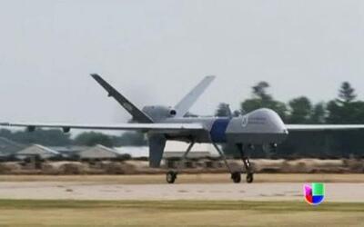 Drones armados podrían vigilar frontera México-EEUU