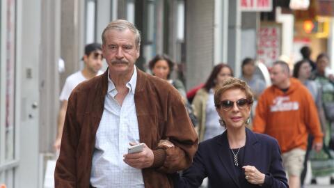 Vicente Fox y Marta Sahagún de Fox